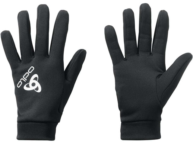 Odlo Stretchfleece Liner Warm Gloves black